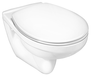 Gustavsberg Nordic 3 350x535mm WC White with Lid