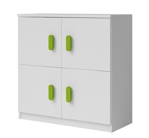 Idzczak Meble Smyk 04 4D White/Green