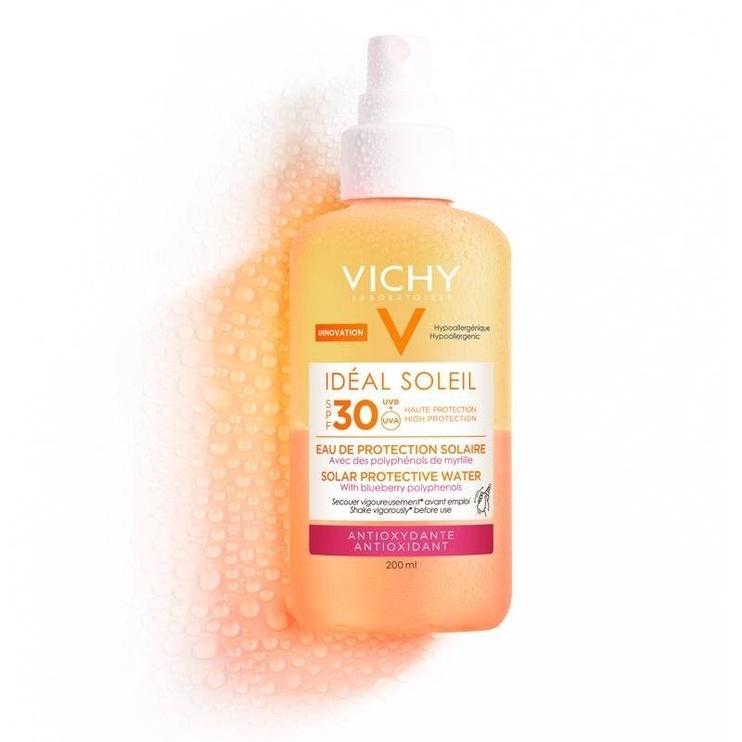 Vichy Ideal Soleil Anti Oxidant SPF30 Protective Solar Water 200ml