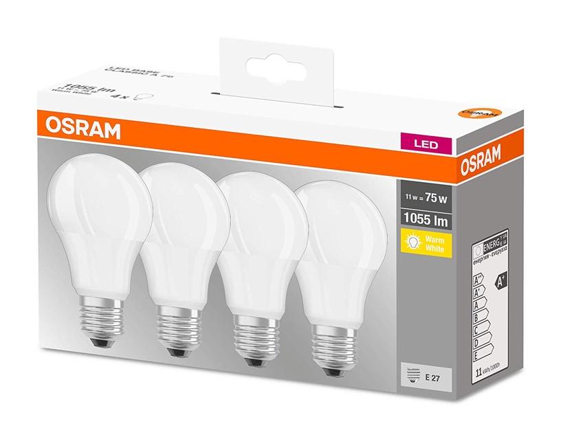 Spuldze led Osram A75 11W, E27, 1055lm, 4gab