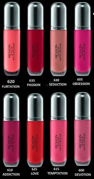 Revlon Ultra HD Matte Lipcolor 5.9ml 625