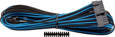 Corsair Premium Individually Sleeved ATX 24-Pin Cable Type 4 (Gen 3) Blue/Black