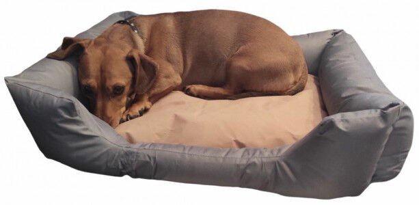 Кровать для животных Vangaloo UA-D021, серый, 800x600 мм