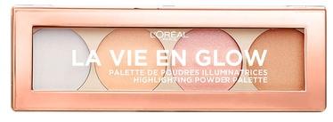 L´Oreal Paris La Vie En Glow Contour & Highlight Palette 5g 02