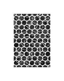 Keramin Pompei 1T Black Dots 275x400mm