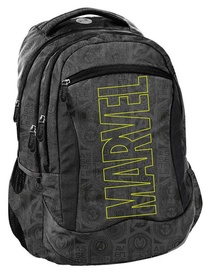 Paso Marvel School Backpack w/ Wallet & Shoe Bag Dark