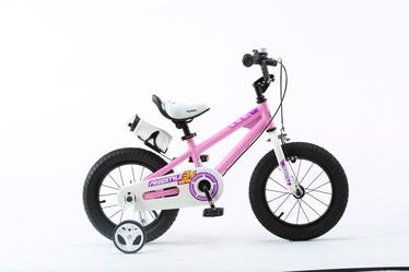 """Vaikiškas dviratis Royalbaby Freestyle RB16B-6, rožinis, 16"""""""
