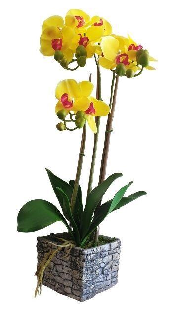 Искусственный цветок MN Artificial Flowers Orchid 3370064