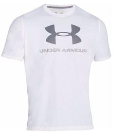 Under Armour T-Shirt CC Sportstyle L 1257615-100 White XL