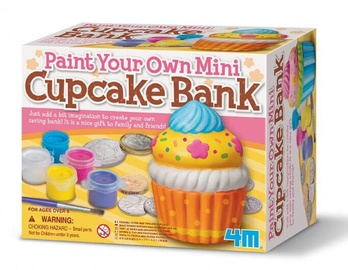 4M Mini Paint Your Own Mini Cupcake Bank