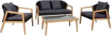Комплект уличной мебели Home4you Erfurt, 4 места