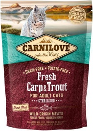Carnilove Sterilised Cat Fresh Carp & Trout 400g