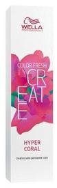 Wella Professionals Color Fresh Create Semi-Permanent Hair Color 60ml Hyper Coral