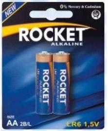 Rocket LR6-2BB AA Batteries 2x