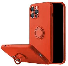 Чехол Mocco Pastel Ring Silicone Back Case for Xiaomi Redmi Note 9T, красный