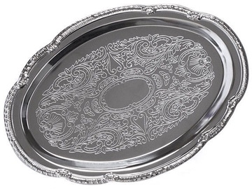 Fissman Serving Tray Chrome 31х22cm 9420