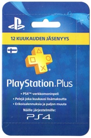 Sony PSN PlayStation Plus 12 Month Membership Finland PSN IDs Only