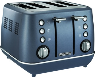 Morphy Richards Evoke Special Edition 4 Slice Toaster Steel Blue 240102
