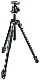 Manfrotto 290 Xtra Aluminium 3-Section Tripod Kit + Ball Head