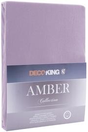 Palags DecoKing Amber Lavander Purple, 240x220 cm, ar gumiju