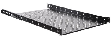 Netrack Equipment Shelf 19'' 1U/650 mm Black