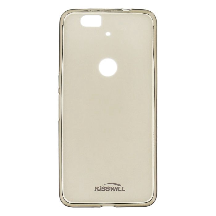Kisswill Frosted Ultra Thin Back Case For Asus Zenfone 2 ZE550ML / ZE551ML Smoked Black