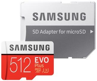 Samsung EVO+ 512GB MicroSDXC UHS-I Class 10 + SD Adapter