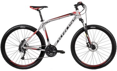 "Dviratis Kross Hexagon R5 XL 27.5"" Grey Black Red 17"