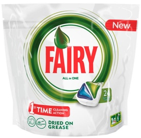 Fairy Dishwashing Tablets All In One Green 24pcs