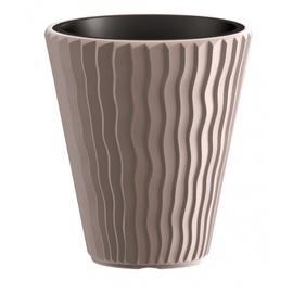 Prosperplast Flower Pot Sandy DBSP400 D390 7529U Ø39cm Brown
