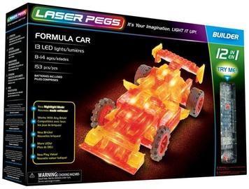 Laser Pegs 12 In 1 Formula Car
