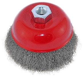 Ega M14 Steele Wire Cup Brush 60mm