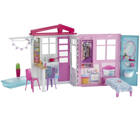 Mattel Barbie Fully Furnished House FXG54