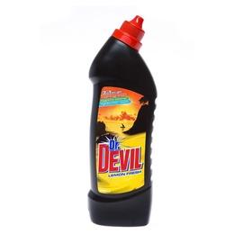 Unitazų valiklis Dr. Devil Lemon 3 in 1, 0,75 l