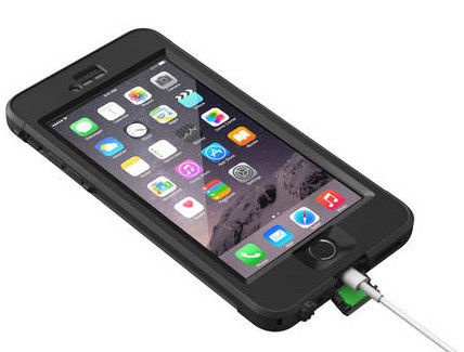 Lifeproof Nuud For Apple Iphone 6/6s Black