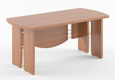 Skyland Born V 101 Executive Desk 200x90cm Garda Walnut