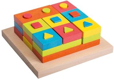 4IQ Set Of Wooden Toy Blocks