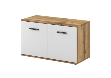 WIPMEB Santo Typ C Shoe Cabinet Wotan/White