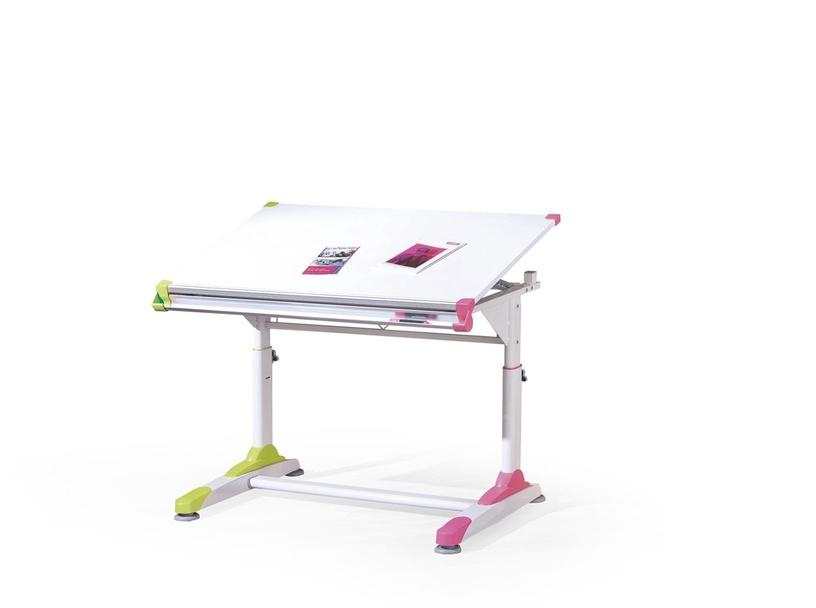 Reguliuojamo aukščio stalas Collorido, 100 x 66 x 69 - 84 cm