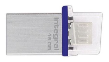 Integral Adapter Micro USB to USB
