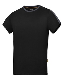 T-SHIRT SNICKERS ALLROUNDWORK BLACK / HALL M