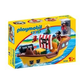 Konstruktorius Playmobil, Piratų laivas, 9118