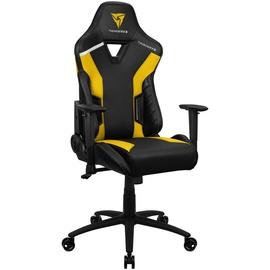 Spēļu krēsls Thunder X3 TC3, dzeltena