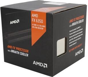 AMD FX-Series FX-6350 3.9GHz 6MB BOX w/Wraith Cooler FD6350FRHKHBX