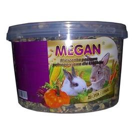 Pašaras triušiams Megan, auksinė serija, 1.5 kg