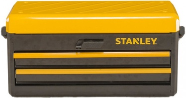 """Stanley Metal Tool Box with 2 Drawers 19"""""""