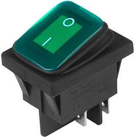 Carmotion Electric Switch DC 12V/24V Green