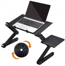 Regulējams klēpjdatora galds ar dzesēšanas sistēmu Mportas