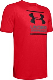 Under Armour GL Foundation T-Shirt 1326849-601 Red XS