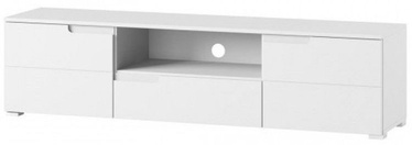 TV galds Szynaka Meble Selene 9 White, 1650x390x420 mm